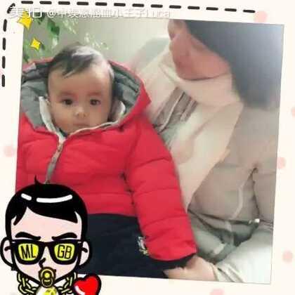 #宝宝##精选#谢谢漂亮的校长妈妈对小Luca的喜爱!😘😘😘小家伙就喜欢看美女!😚😚😚