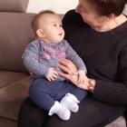 #宝宝##荷兰混血小小志&柒##祖孙俩#柒公主和奶奶... ...