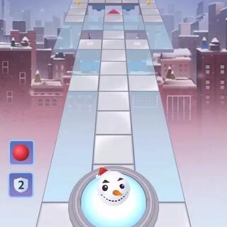要是没有那个雪人,我都得死!!!雪人大哥我错了😭😭😭满钻满冠和通关都靠你。再次致敬#U乐国际娱乐##游戏#