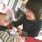 #宝宝##兄妹俩的美好时光##荷兰混血小小志&柒#幸福时刻