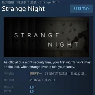 《Strange Night》恐怖游戏 变态程度类似evil!!,无脑吓人系列。。。 下周礼拜二更新👌。 #游戏#