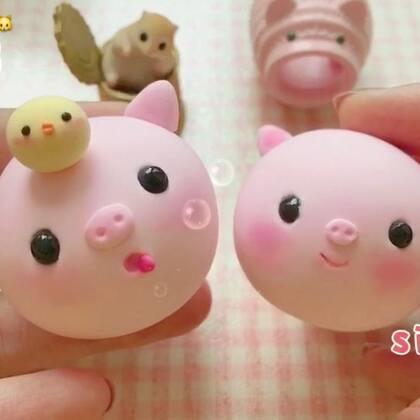 精致猪猪🐔🐷多吃些 还可以更胖😜hhh 感恩❤️请评论你们喜欢哪一只👌#手工##巨人的迷你世界##手工萌想#@养🐹的孟子爵 dd~