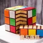 魔方蛋糕的做法,丰富的颜色和逼真的造型,离远看就好像是真的魔方一样,魔方迷们一定会喜欢这款蛋糕的。做好的魔方蛋糕可以和朋友们分享,也可以晒到朋友圈得瑟,成就感爆棚,肯定可以收获大量的关注和赞。📎#美食##甜品##涛哥的吃货之路#99