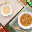 7-8个月/18-36个月辅食:天气寒冷,一碗杂蔬鸡汤不仅营养丰富、美味可口,更能让宝宝吃完全身都暖暖的,预防感冒哦。#宝宝##宝宝辅食##美食# @美拍小助手 贝贝粒,让育儿充满欢笑。
