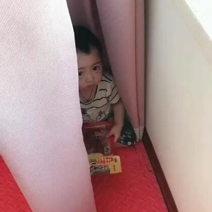 一分钟没听到你的声音就不对劲,原来你藏在这里 🤔#宝宝#
