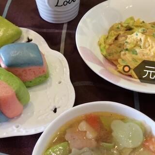 元气早餐,开启美好的一天😊#美食##美好的一天从早餐开始##美拍小助手#