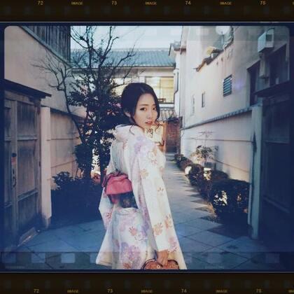 穿上了梦寐以求的和服 去清水寺地主神社为自己求了姻缘,为爸妈求了健康 2018,遇见更好的自己#日本京都##带着美拍去旅行##穿秀#