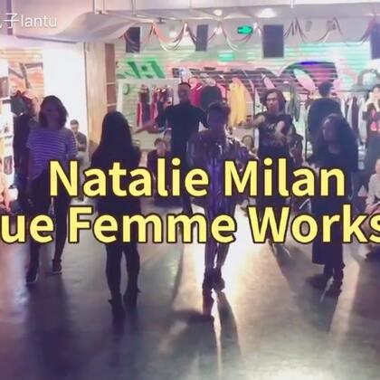 #舞蹈#上周在上海的Natalie Milan老师的Vogue Femme大师课编舞部分的随堂拍❤️❤️❤️#Voguing##Vogue Femme#