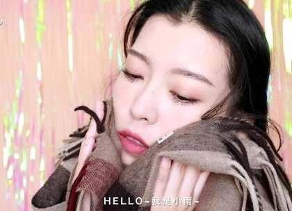 围上围巾你也是精致的!中长发女生福音,搭配围巾的六款造型教程#我要上热门##教程##发型#