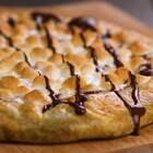 手机前的各位巧克力爱好者,想不想尝尝巧克力的披萨呢🎈🎈#美食##我要上热门##半夏食谱#