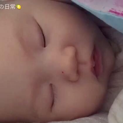 不知道梦见什么在哭泣,好伤心的😟#宝宝##萌宝宝#