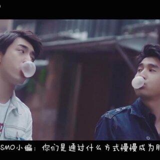 """#赵又廷#的友情关键词是""""君子之交,简单真挚。"""";而#林更新#林更新 的八字秘笈是""""真诚至上,表里如一。""""#时尚COSMO#"""