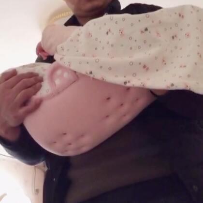 宝宝43天时的记录#宝宝##萌宝宝##萌宝成长记#