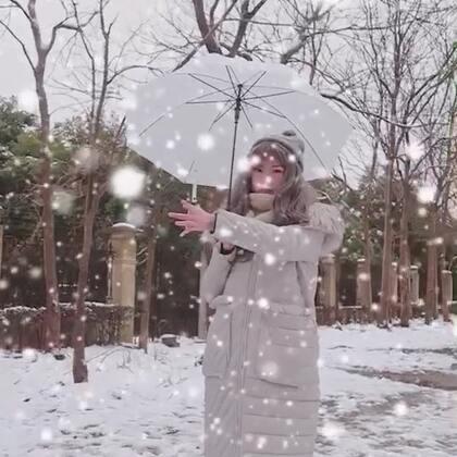 #2018第一场雪#雪天想有超能力吗?