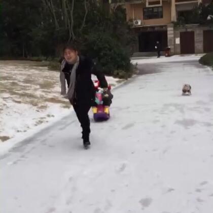 #冬天就要滑雪##我要上热门#