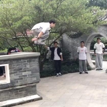 【卡】 桂林跑酷BOY菜鸟小志 - 凉 (失误)#跑酷##运动#
