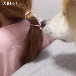 不伤发的解头发方法😒#我要上热门@美拍小助手#