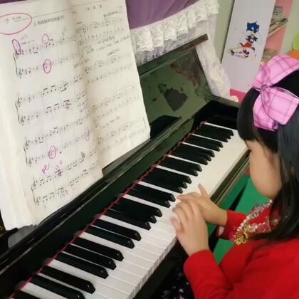 宝贝4岁 考级曲目练习 #热门##钢琴##宝宝#