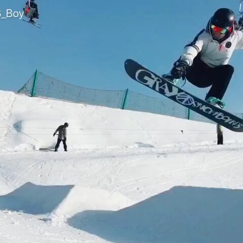 【J俊Xi_B_Boy美拍】#单板滑雪##单板##南山滑雪#喜欢...
