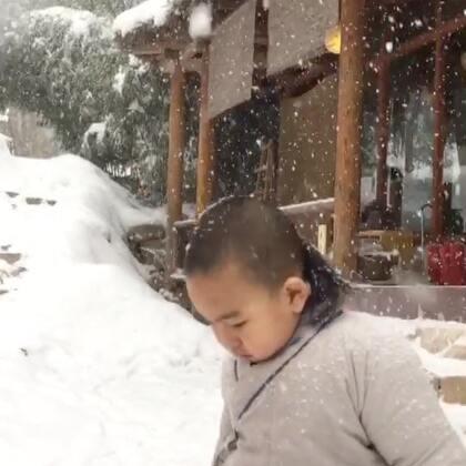 终南山的雪今年出奇的大。