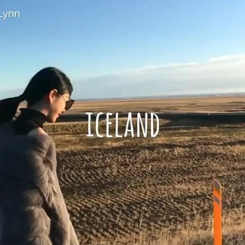 【王琳琳Lynn美拍】冰岛🇮🇸之旅 #环球旅行#
