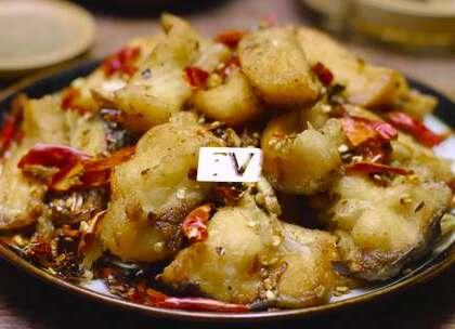 这道麻辣鱼块做法简单,但味道绝不简单,热着吃凉着吃都很可口#魔力美食##吃货过大年##美味#