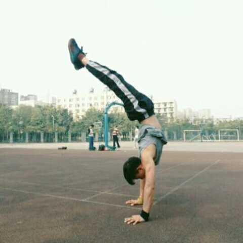 【Aanhmforever美拍】#运动##街头健身##精选# 年度超...