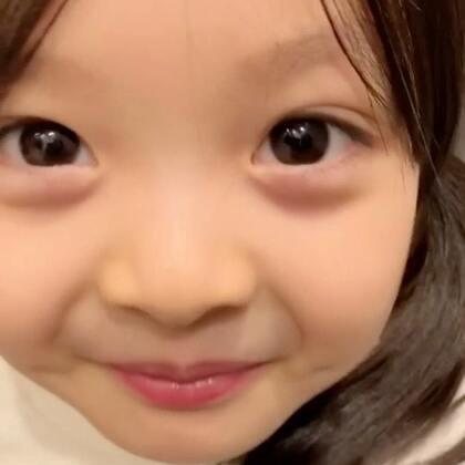 #宝宝##梨涡妹妹金在恩#久违的超近距离的在恩小视频❤️