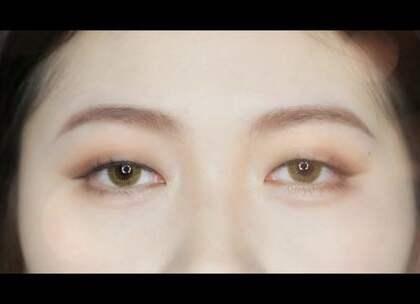 #吴琼琼的彩妆教室#这是一个能让单眼皮放大3倍的眼妆!不借助双眼皮贴哦~