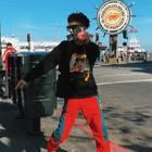 #跳着看世界# 旧金山网红地渔人码头打卡,遇到骑车黑人小哥听到U乐国际娱乐跟我互相点头甩手 #精选#