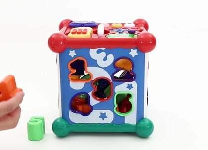 宝宝玩玩具总是很快就腻?试试这款多功能玩具,还能帮助宝宝开发智力哦#宝宝##育儿# @美拍小助手 贝贝粒,让育儿充满欢笑。