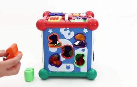【贝贝粒视频美拍】宝宝玩玩具总是很快就腻?试试这...
