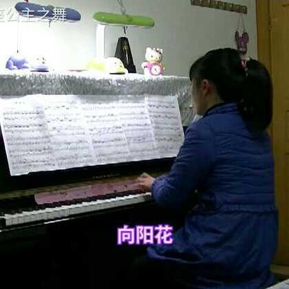 #钢琴曲#向阳花🎵以前就很喜欢这首曲子的旋律,特别优美活泼欢快,无奈跨度较大,手小弹不了。现在可以弹了,练得还不够有失误,再练练可以弹得更快点#音乐##钢琴##向阳花#