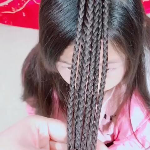 儿童编发教程#我要上热门##儿童编发教程#古装发型