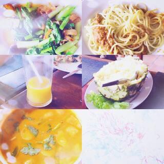 奉上日常之-午餐#泰国之旅#