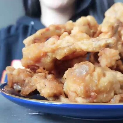 来点炸鸡#美食#