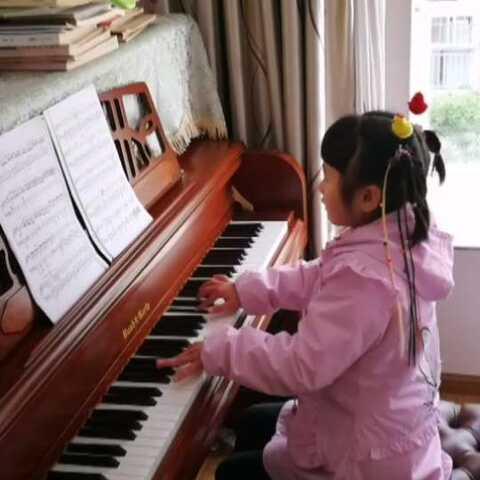【琴童天爱美拍】天爱六岁零五个月演奏肖邦《幻想...