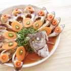 好开心,快过年了。今天给厨房小白分享一道好看好吃,关键是简单的年夜菜【孔雀开屏鱼】。祝美拍家人们新年快乐!#美食##木籽食语##吉祥年菜#