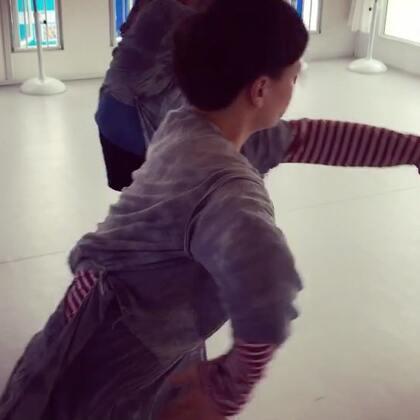 #舞蹈#香巴拉,排练版片段。