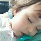 看看电视📺睡着了😴😂#宝宝##我要上热门##晒睫毛大赛#@美拍小助手