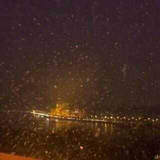 匈牙利的夜#精选##匈牙利##解锁冬奥冷姿势#