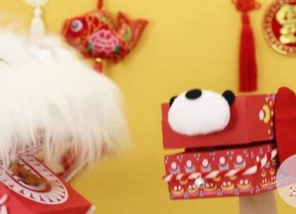 用闲置的纸盒等材料,就能做一只会说话的旺旺小狗和舞狮。贝贝粒祝大家在新的一年里,和宝宝一起红红火火、快快乐乐!#宝宝##育儿##diy# @美拍小助手 贝贝粒,让育儿充满欢笑。