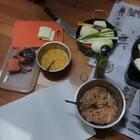 小伙伴们新年快乐~~ @美拍小助手 #美食# 我们家做饭就跟过家家似的 哈哈哈