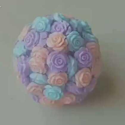 玫瑰花馅的大汤圆,哪个小可耐来领取一下?#史莱姆##颗粒泥##超仙水晶泥#