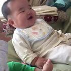 #宝宝#这笑声没谁了!😂#精选##搞笑#
