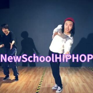 #舞蹈#2018NewSchool #hiphop#来一支冬季集训的课堂成品放送😛#天津街舞#