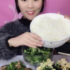 米饭炒菜来喽✌️