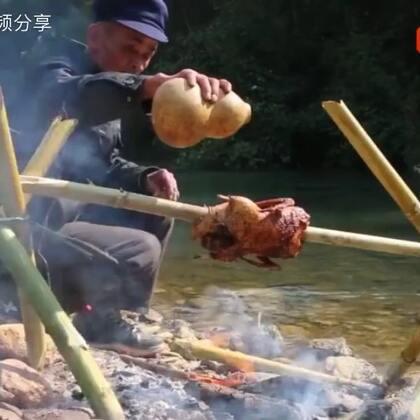 功夫大爷做鱼鸭👍太牛了👍好香🔥#精美电影##美食#