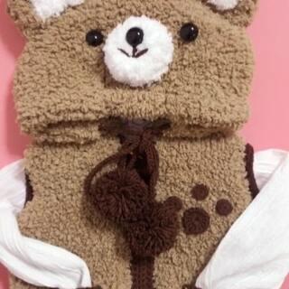 织其它小动物款材料:绒绒线,五股牛奶棉,6.