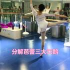 #芭蕾##舞蹈分解教学##舞蹈#去年录的三大天鹅分解版。之一😎